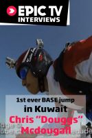 1st ever BASE jump in Kuwait, Chris